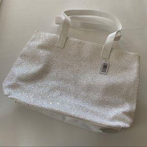 Clinique Glitter Tote Bag